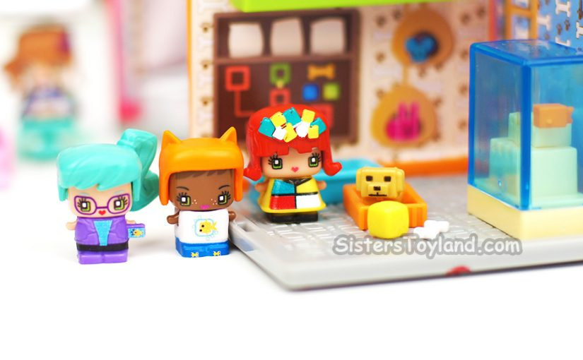 Unboxing My Mini MixieQ's Pet Store Mini Room Playset