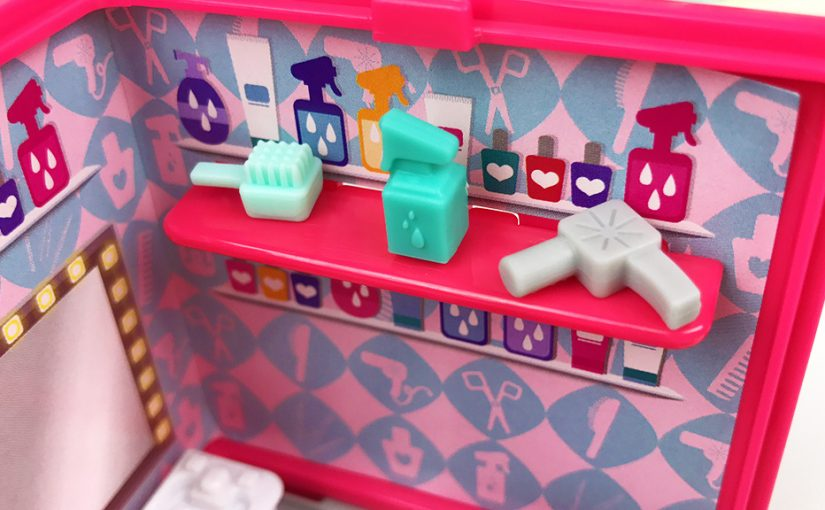 Unboxing My Mini MixieQ's Beauty Salon Mini Room Playset
